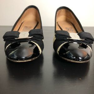 Salvatore Ferragamo Shoes - Ferragamo | Laser Cut Low Block Heels Sz. 9 2A (N)